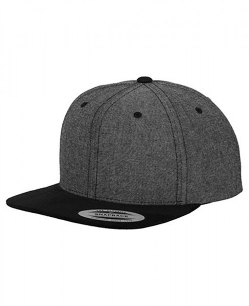 Flexfit Snapback Cap Chambray Suede 6089CH