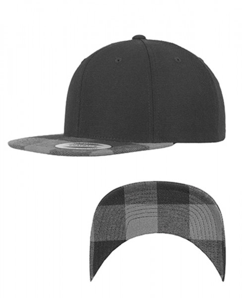 Flexfit Snapback Cap Checked Flanell Peak 6089FP