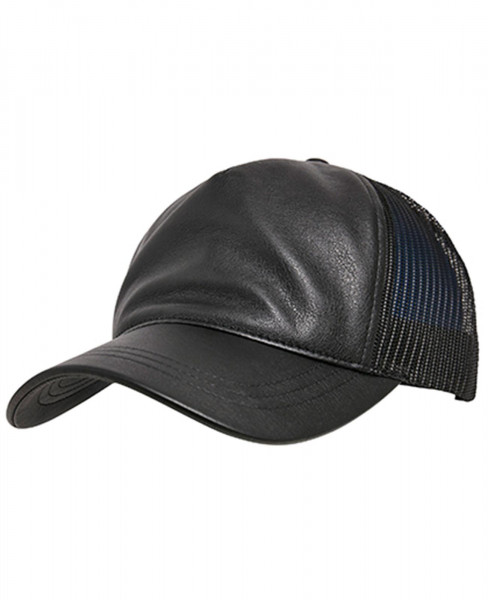 Flexfit Trucker Cap Retro Leather 6606LT