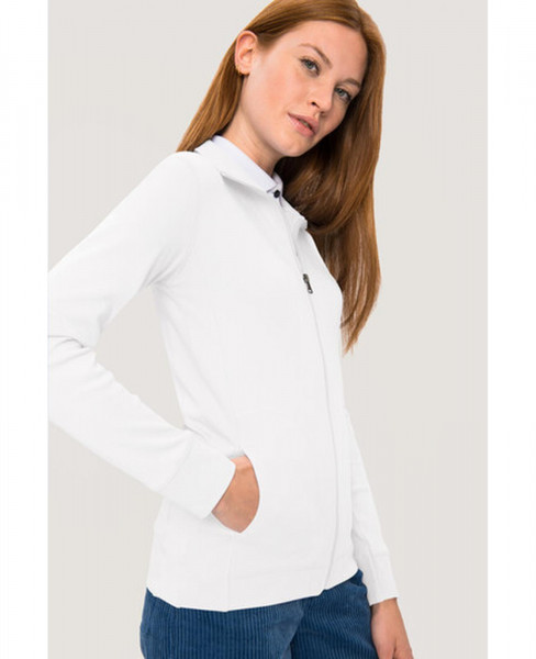 HAKRO Damen Sweatjacke Interlock 227